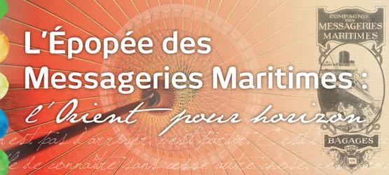 L'épopée des Messageries Maritimes intro