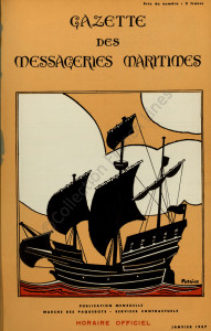 Gazette des Messageries Maritimes, janvier 1939, 1997 002 5197