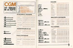 Extrait du Courrier de la Compagnie Générale Maritime, n°1, Printemps 1975