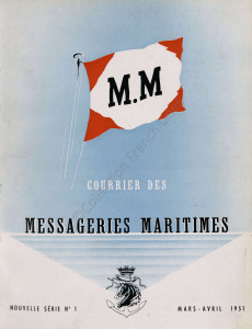 Extrait du Courrier des Messageries Maritimes, n°1, mars-avril 1951