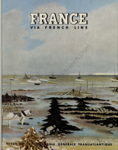 Extrait de la revue France Via French Lines, 1961-1962