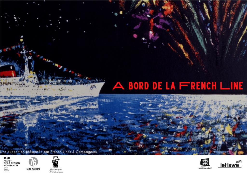 À bord de la French Line